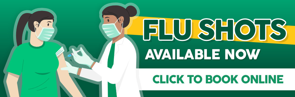 Flu Shots in PEI now available at Murphy's Pharmacies book online